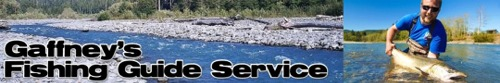 Gaffney's Fishing Guide Service, serving Washington State and the greater Puget Sound area