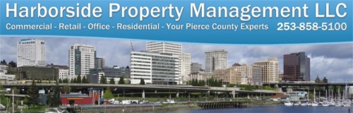 Harborside Properties LLC of Gig Harbor provides commercial property management services for office, retail and residential properties.